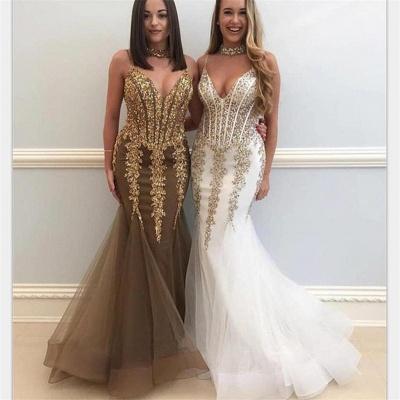 Sexy Mermaid Evening Dresses  | Crystal Mermaid Formal Dresses Online_2