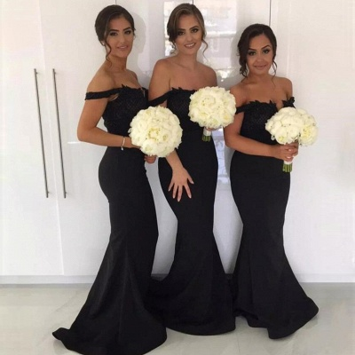 New Cheap Maid of Honor Dresses | Off-the-Shoulder Sexy Bridesmaids Dresses_3