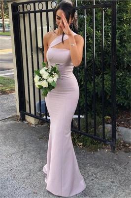 Simple Strapless Mermaid Evening Dresses | Floor Length Sexy Prom Dress_1